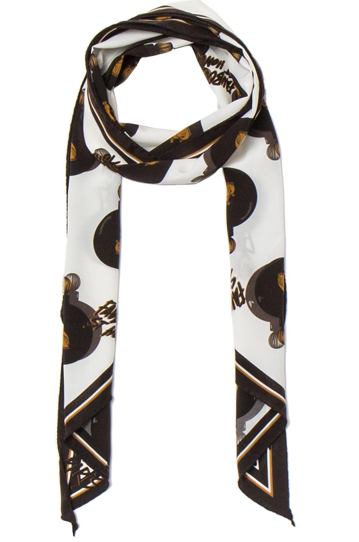 Image 1 of Lanvin Scarf in Black & White