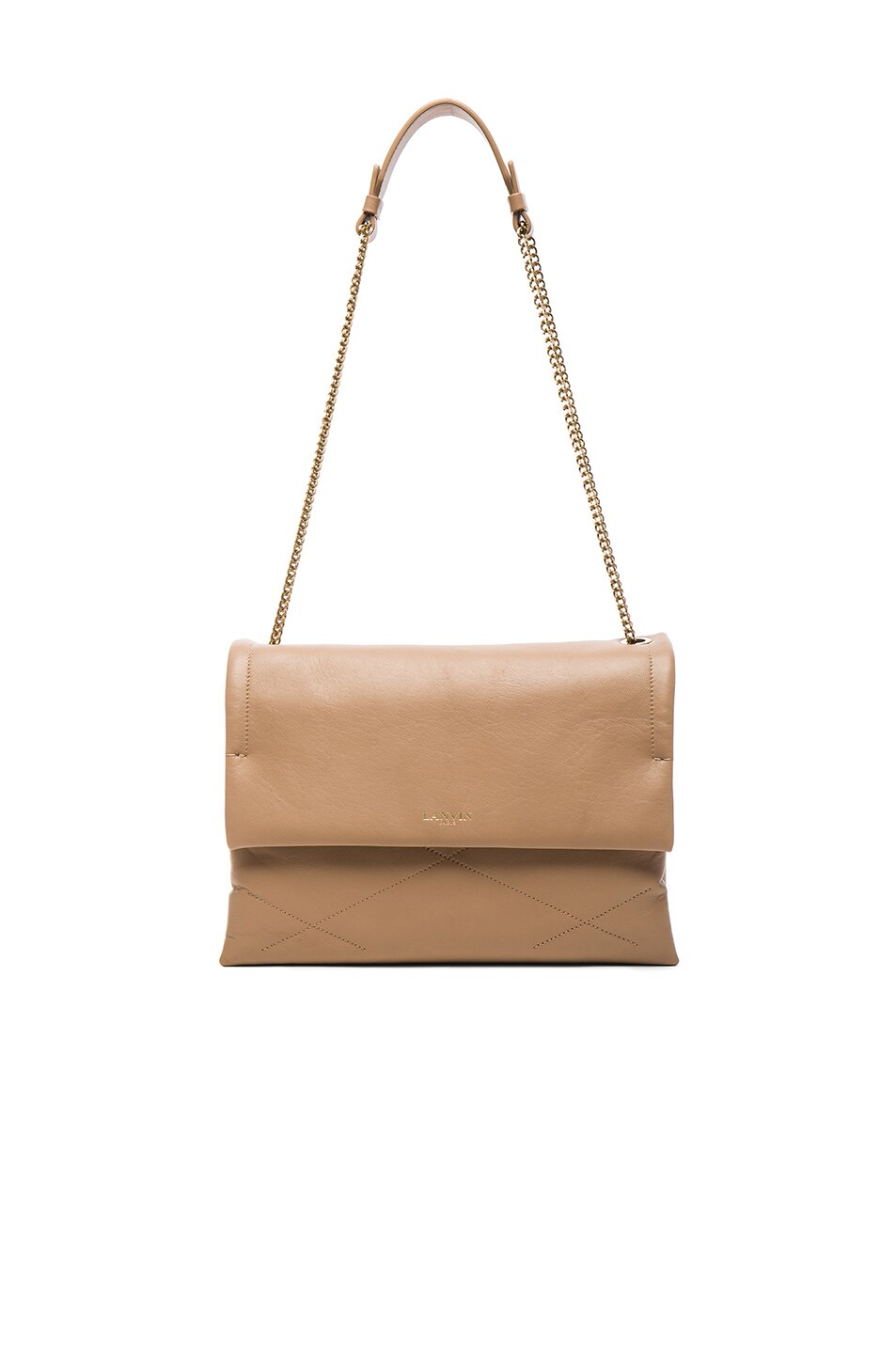 Image 1 of Lanvin Medium Sugar Bag in Sand