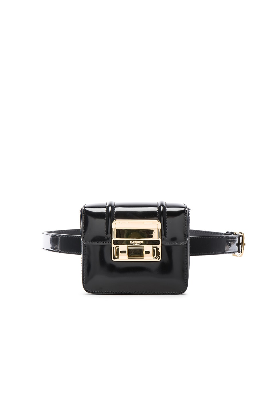 Image 1 of Lanvin Mini Jiji Belt in Black