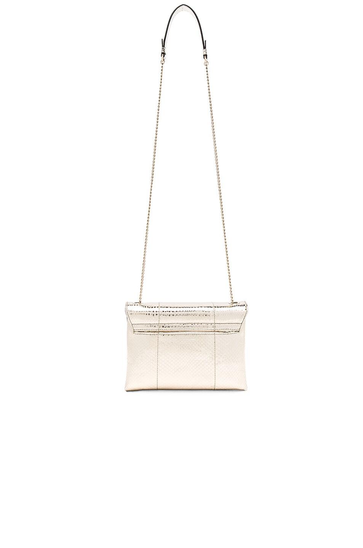 Image 2 of Lanvin Snake Skin Mini Sugar Bag in Light Gold