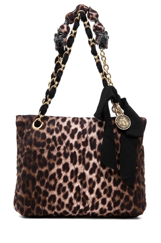 Image 3 of Lanvin 10 Year Anniversary Happy Handbag in Leopard