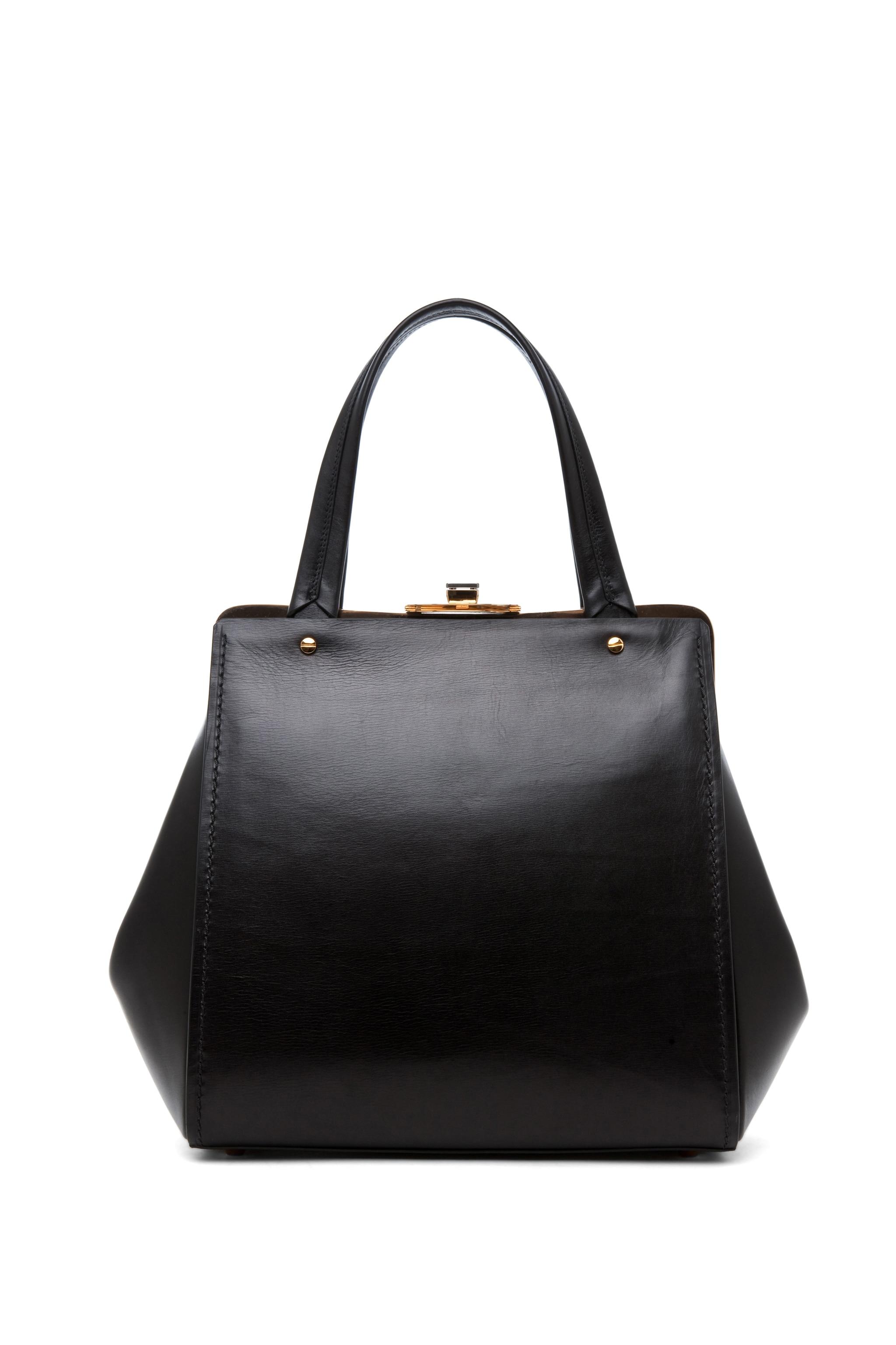 Image 2 of Lanvin Doctor Bag in Black