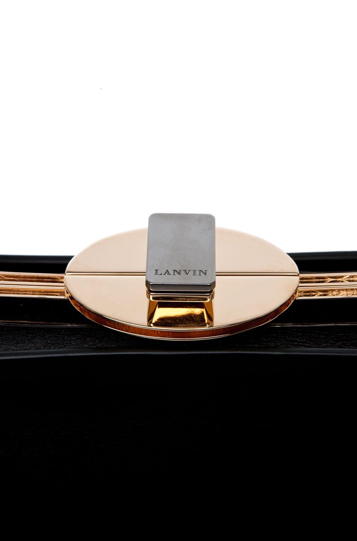 Image 4 of Lanvin Doctor Bag in Black