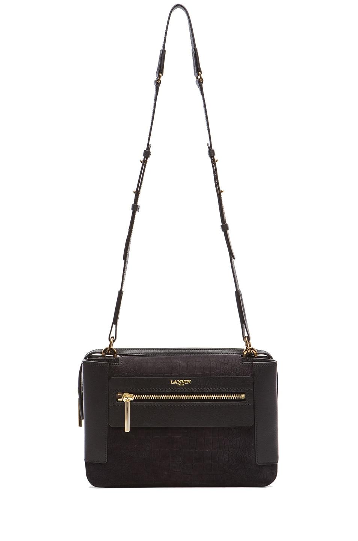 Image 5 of Lanvin Beyond Le Jour Medium Bag in Black