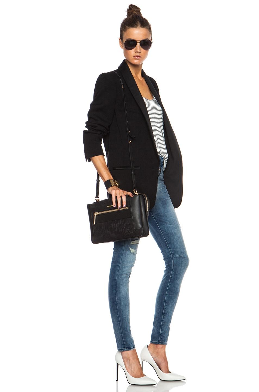Image 6 of Lanvin Beyond Le Jour Medium Bag in Black