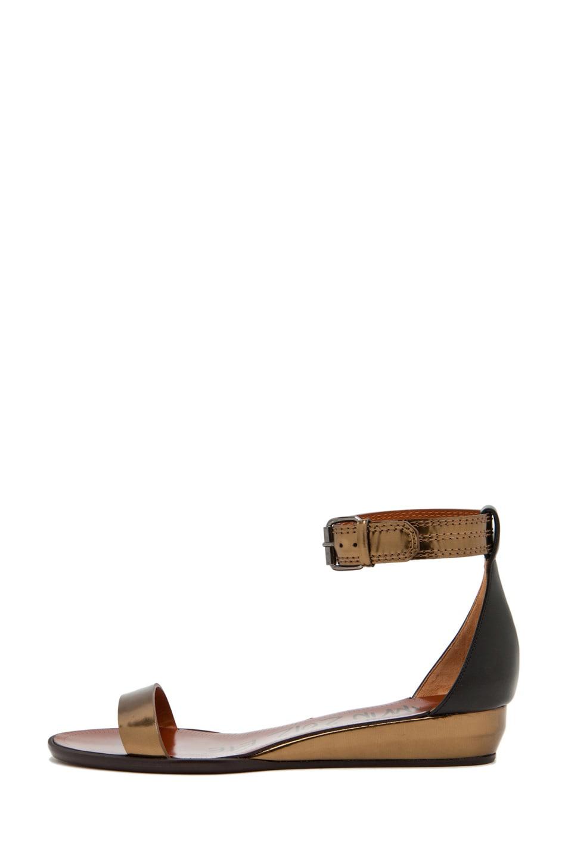Image 1 of Lanvin Avec Sandal in Bronze/Black