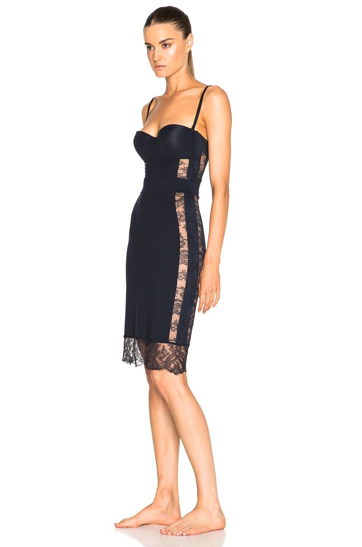 Image 2 Of La Perla Shape Allure Dress In Navy