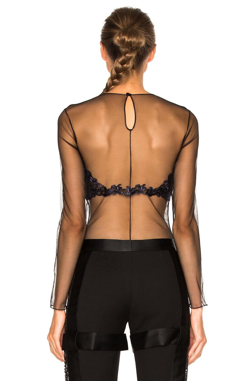 8c5c8fc181 Image 5 of La Perla Secret Story Bodysuit in Black