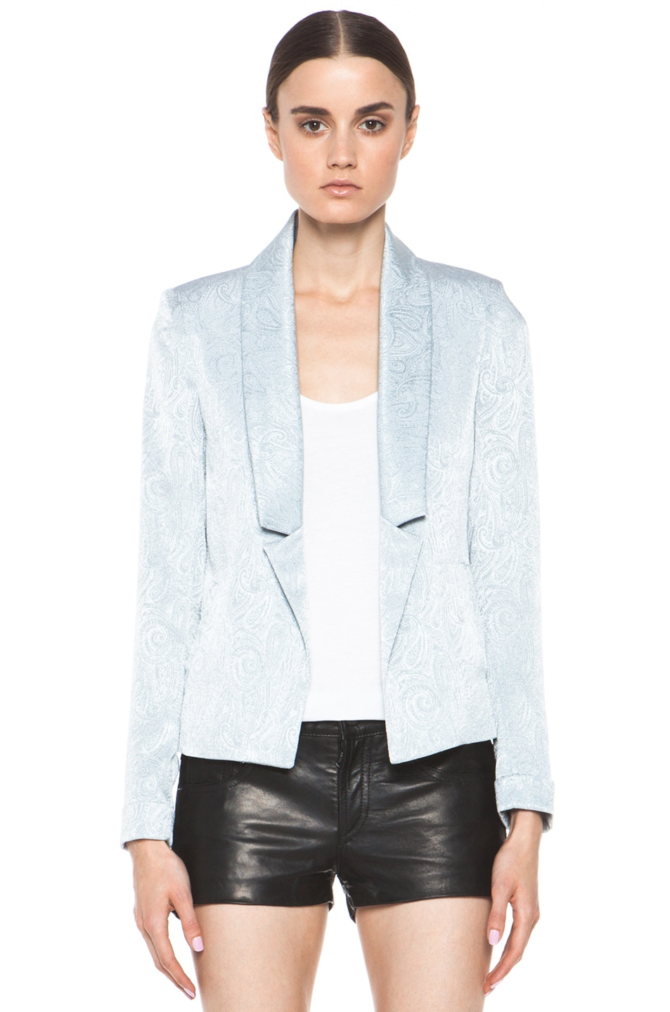 Image 1 of Laveer Savoy Blazer in Silver