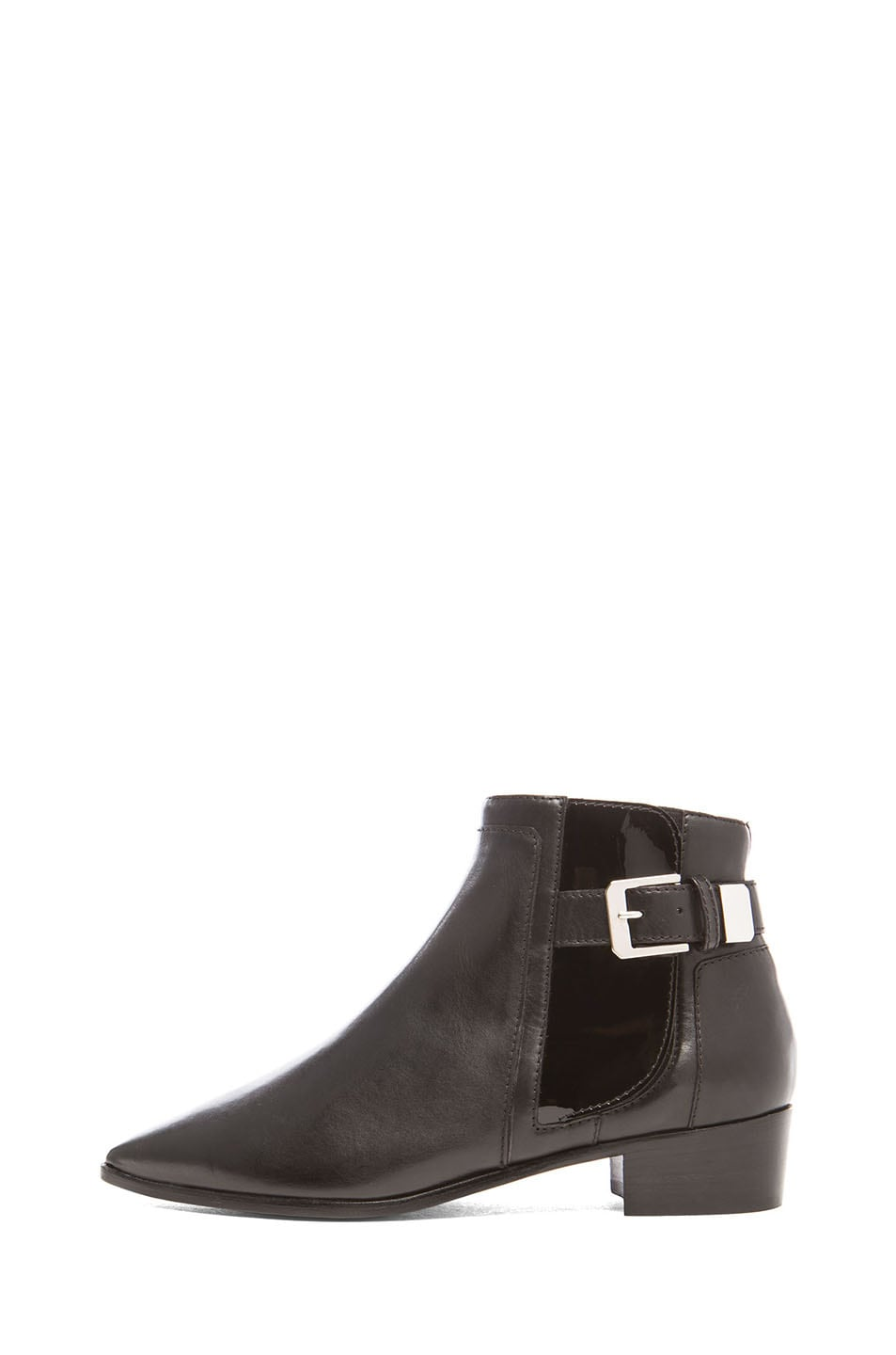 Image 1 of Laurence Dacade Ed Calfskin Leather Booties in Black