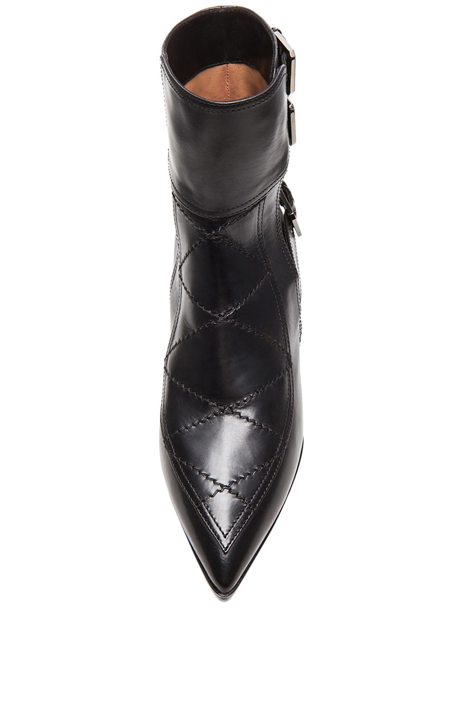 Image 4 of Laurence Dacade Gepetto Leather Booties in Black Leather