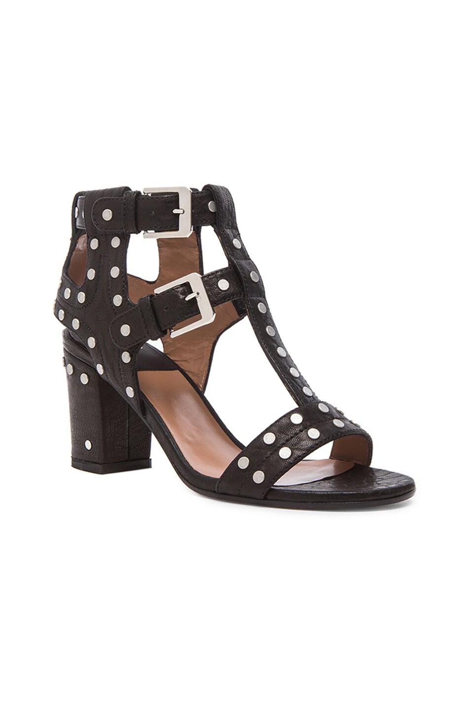 Image 2 of Laurence Dacade Helie Leather Heels in Black