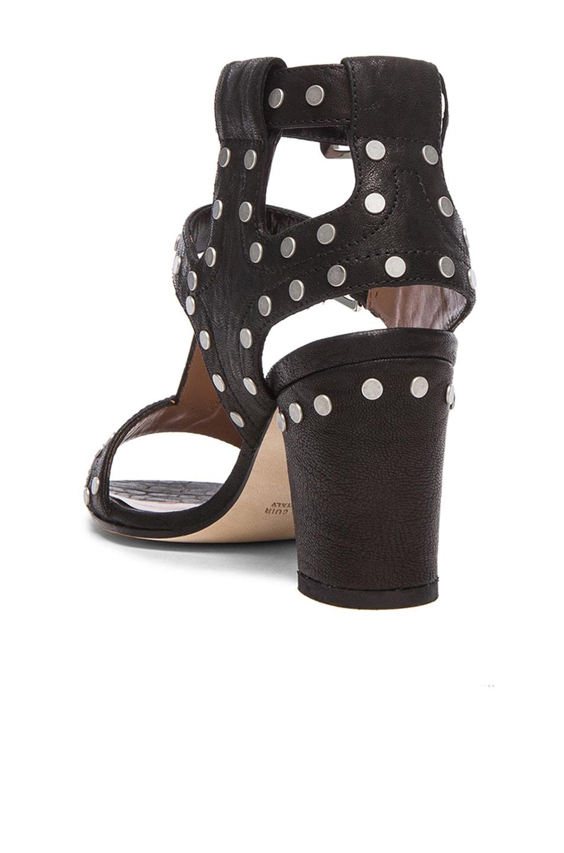 Image 3 of Laurence Dacade Helie Leather Heels in Black