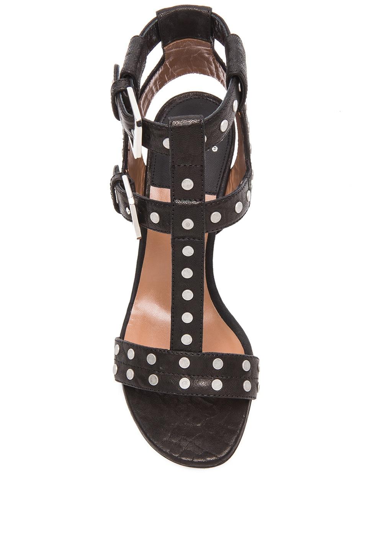 Image 4 of Laurence Dacade Helie Leather Heels in Black