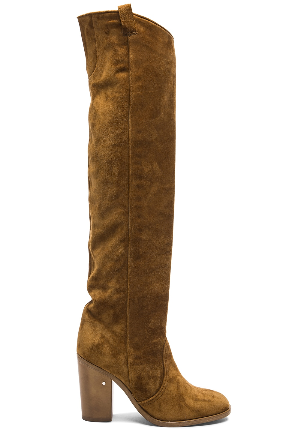 Image 1 of Laurence Dacade Silas Suede Boots in Camel