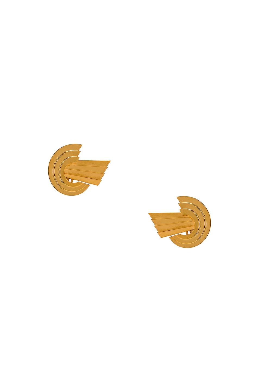 Image 1 of LEDA MADERA Meryl Earrings in Gold