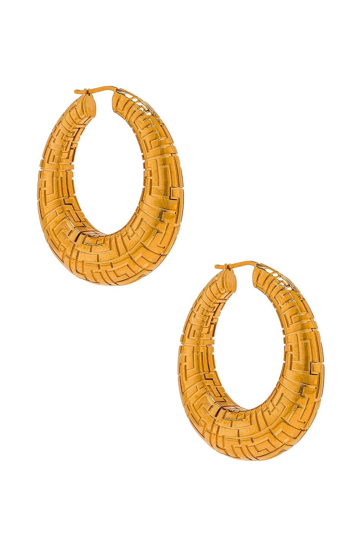 Image 1 of LEDA MADERA Geena Big Earrings in Gold