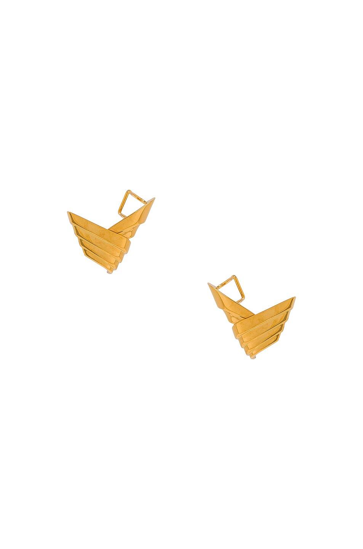 Image 1 of LEDA MADERA Susan Earrings in Gold