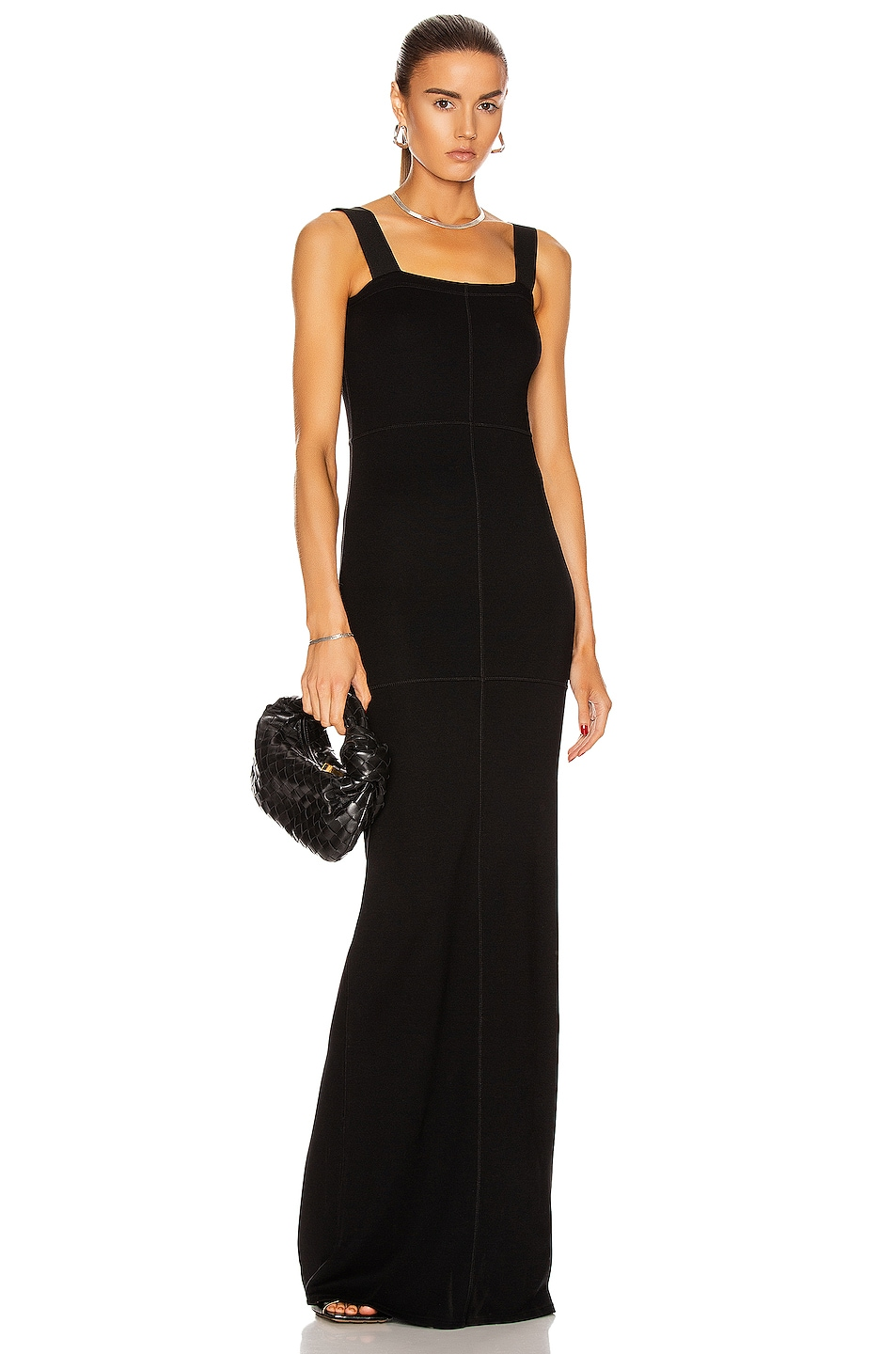 Image 1 of Lemaire Tube Dress in Black