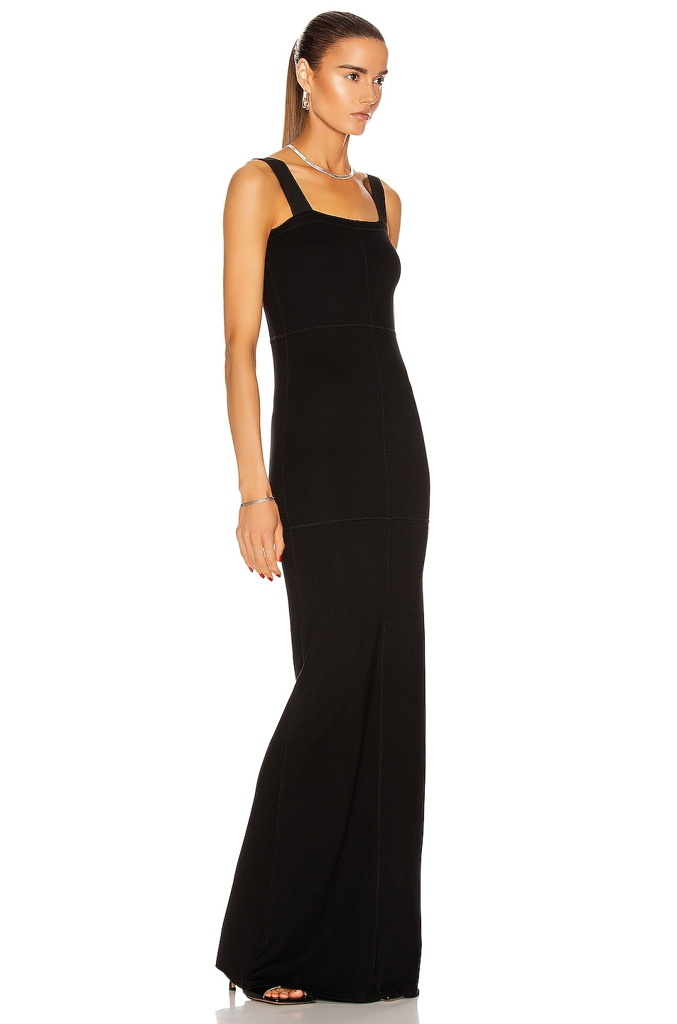 Image 2 of Lemaire Tube Dress in Black