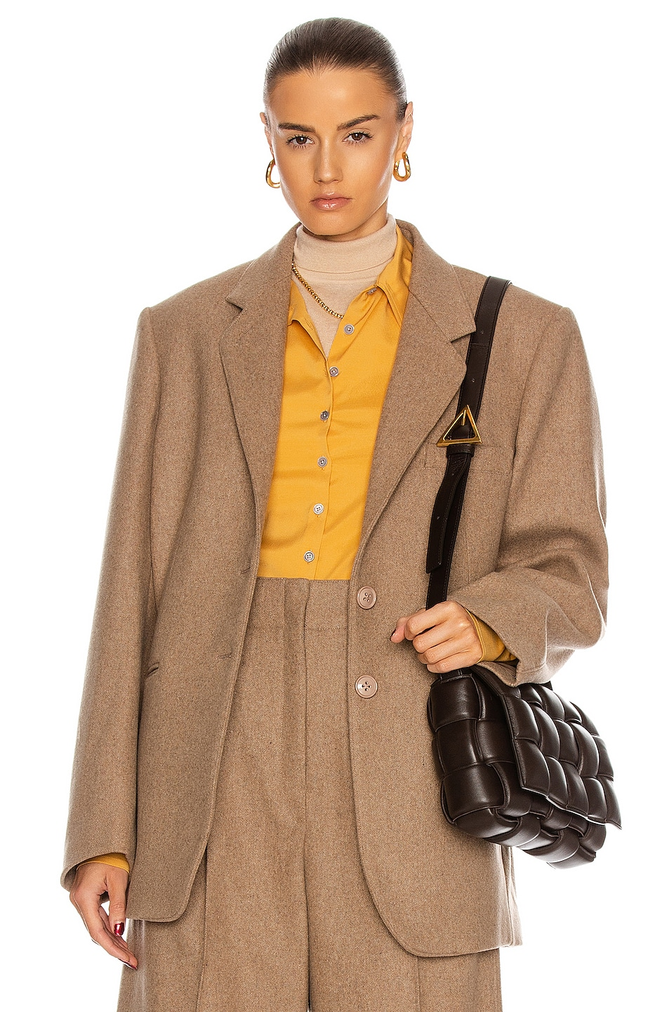 Image 1 of Lemaire Long Jacket in Beige