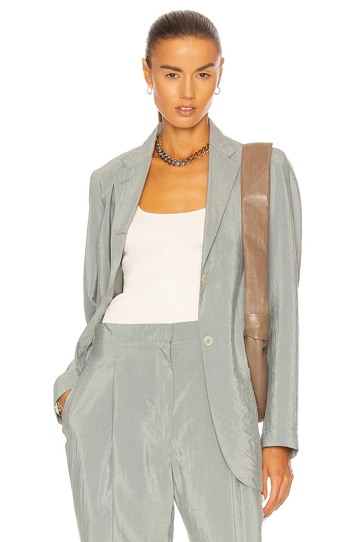 Image 1 of Lemaire Pajama Jacket in Misty Blue
