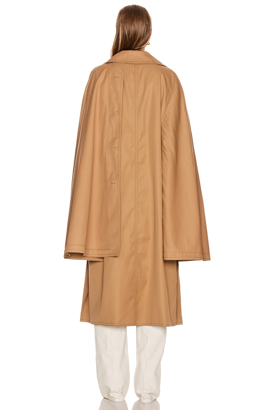 Image 5 of Lemaire Cape Coat in Mocca