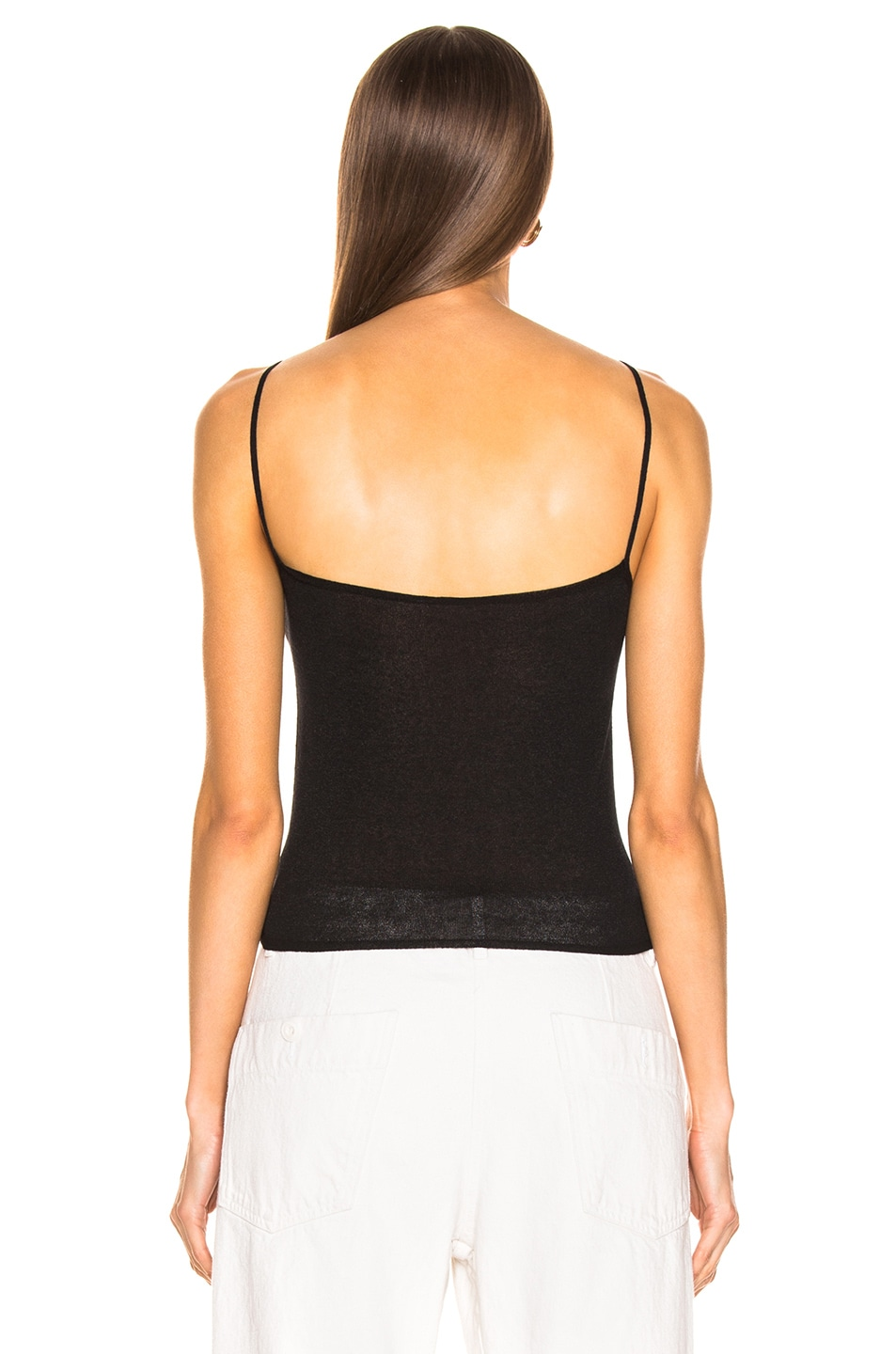 Image 3 of Lemaire Second Skin Tank Top in Black