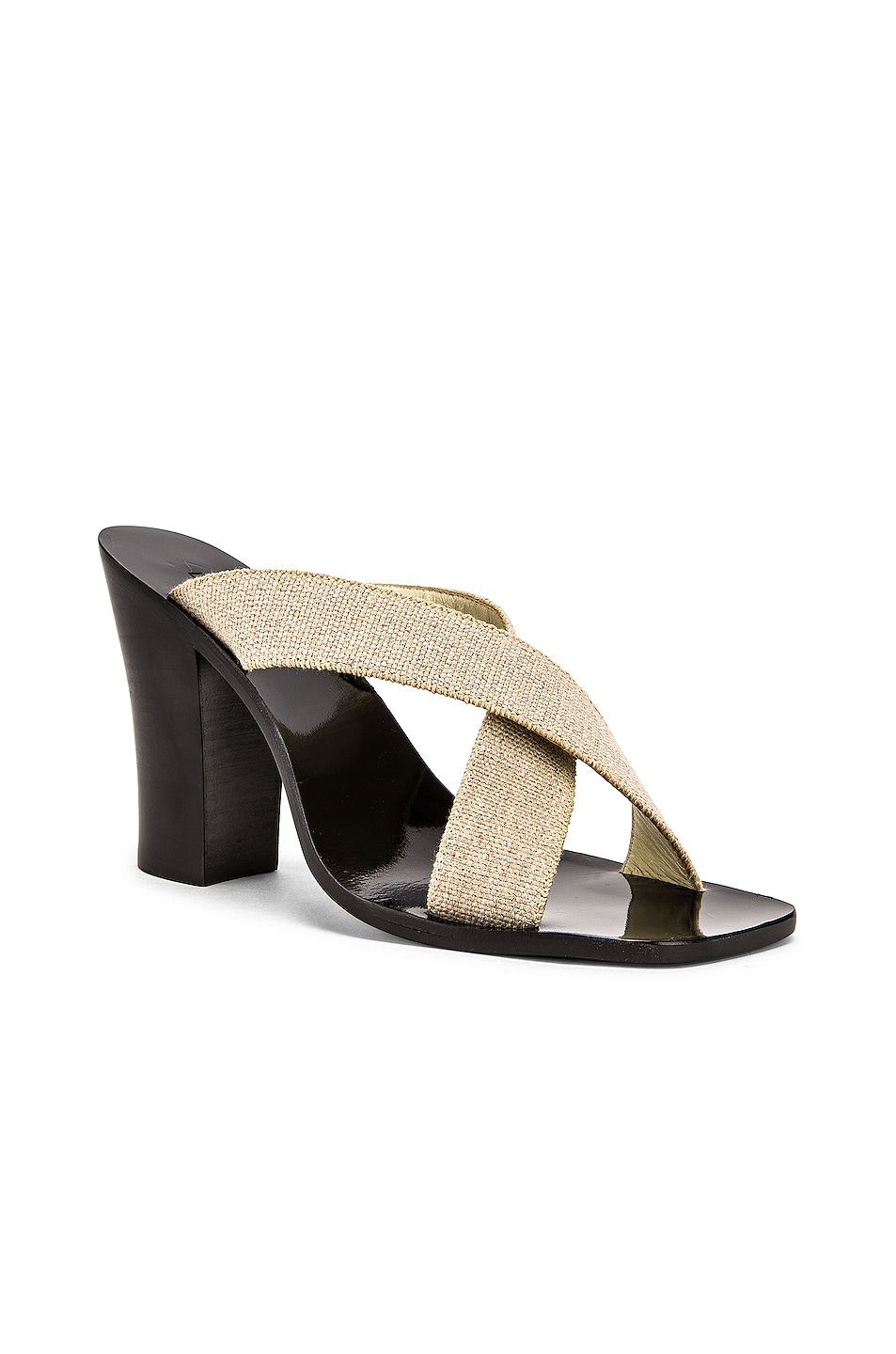 Image 2 of Lemaire Strappy Heel Sandal in Natural