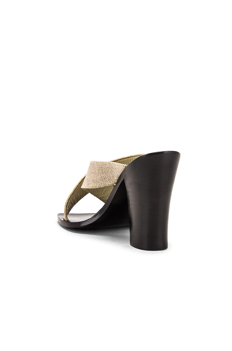 Image 3 of Lemaire Strappy Heel Sandal in Natural