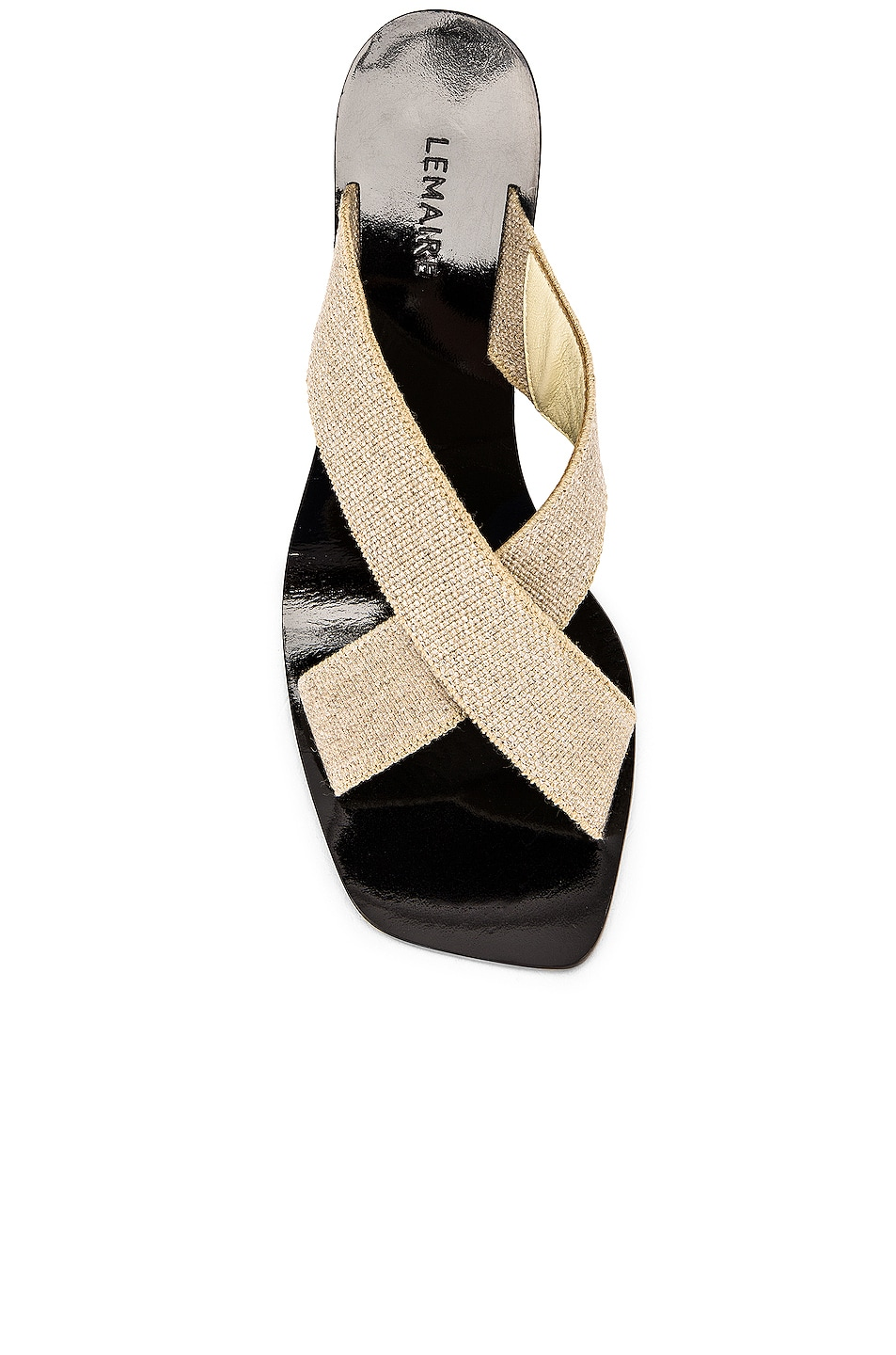 Image 4 of Lemaire Strappy Heel Sandal in Natural