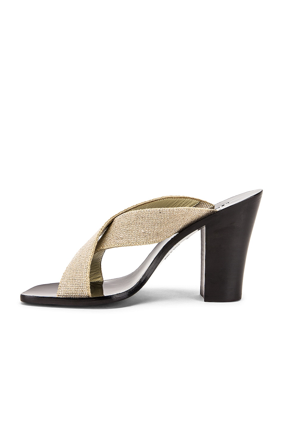 Image 5 of Lemaire Strappy Heel Sandal in Natural