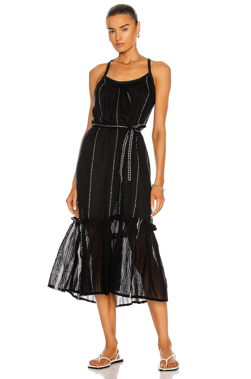 Image 1 of Lemlem Tikuri Sundress in Black