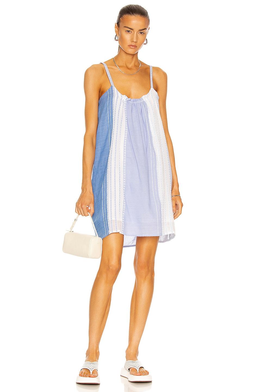 Image 1 of Lemlem Eshal Swing Dress in Cornflower Blue