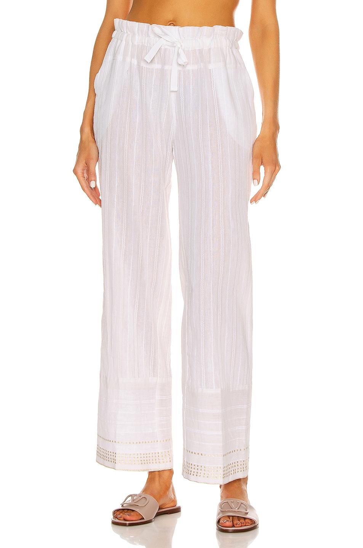 Image 1 of Lemlem Kelali Pant in White