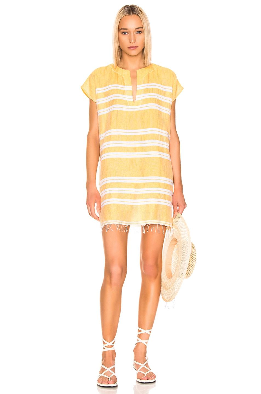 Image 1 of Lemlem Doro Tunic Dress in Gold