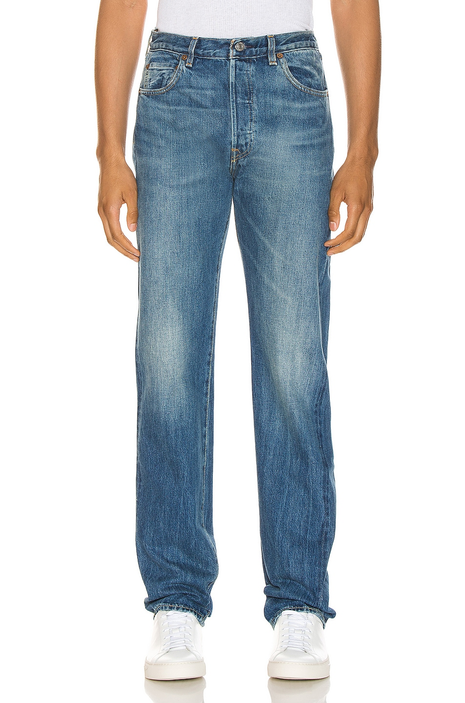 Image 1 of LEVI'S Vintage Clothing 1966 501 Jeans in Ramblin Man