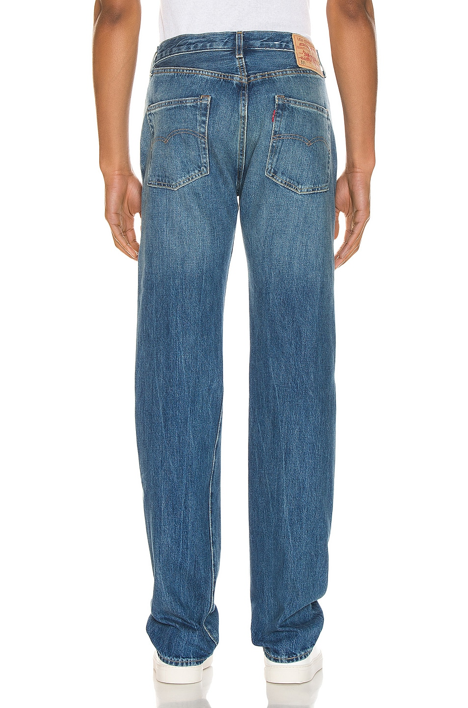 Image 3 of LEVI'S Vintage Clothing 1966 501 Jeans in Ramblin Man