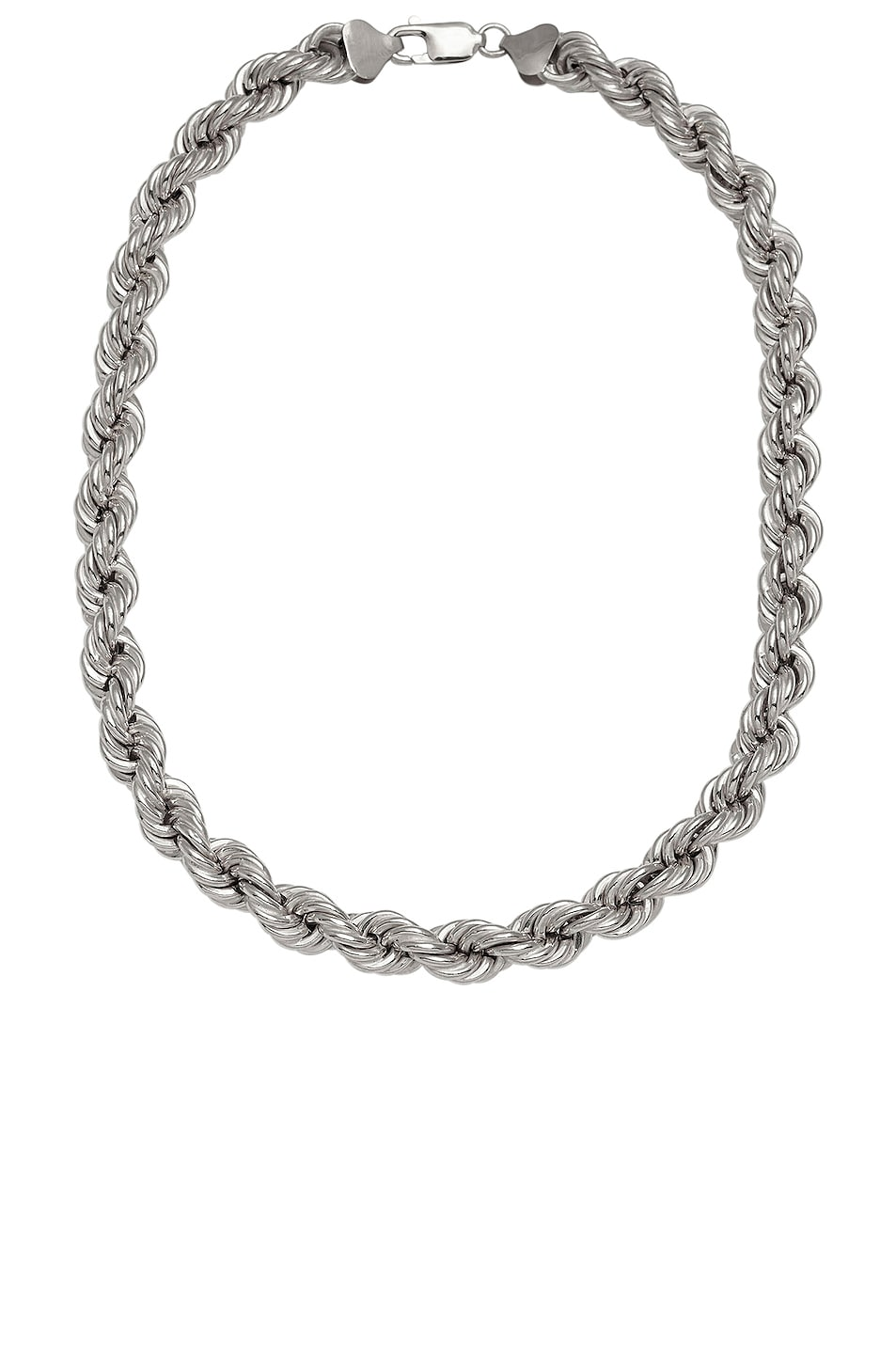 Image 1 of Loren Stewart XXL Rope Chain Necklace in Sterling Silver