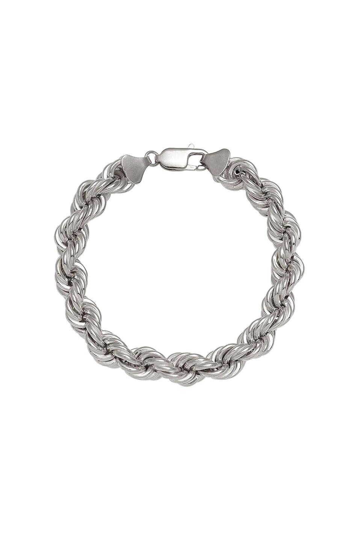 Image 1 of Loren Stewart XXL Rope Bracelet in Sterling Silver