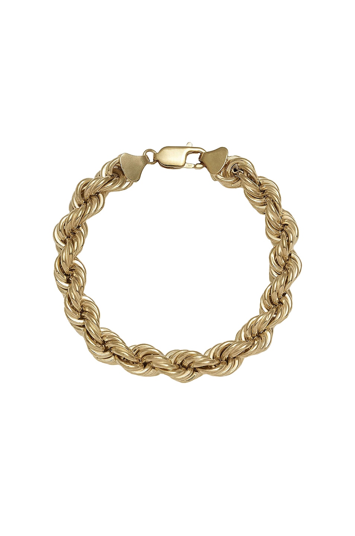 Image 1 of Loren Stewart XXL Rope Bracelet in Gold