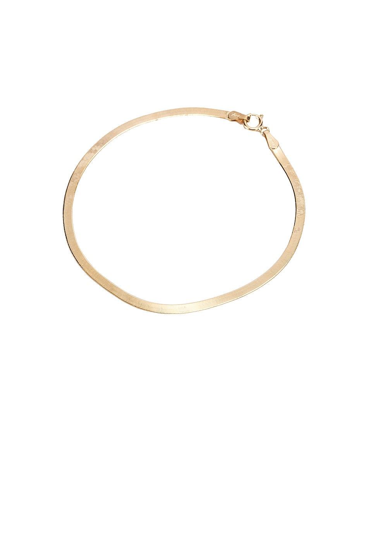 Image 1 of Loren Stewart Herringbone Bracelet in Yellow Gold