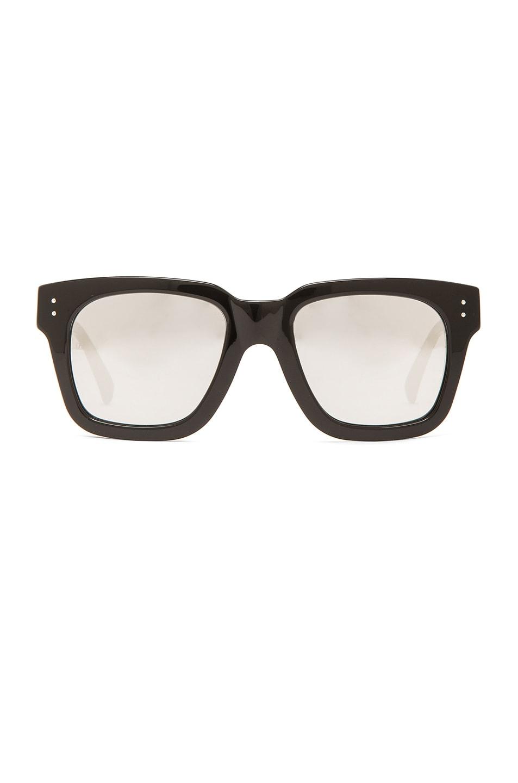 Image 1 of Linda Farrow Square Sunglasses in Black