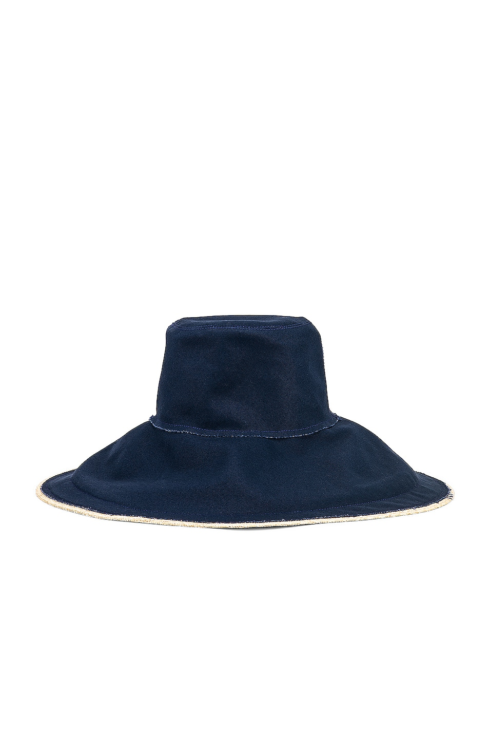 Image 1 of Lola Hats Single Take in Natural & Navy