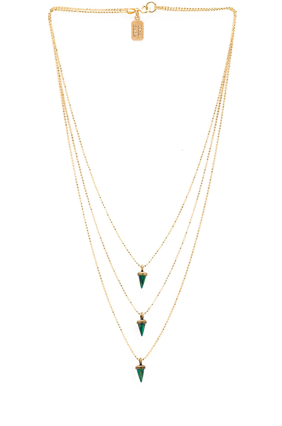 Image 1 of Lionette by Noa Sade Avish Necklace in Green