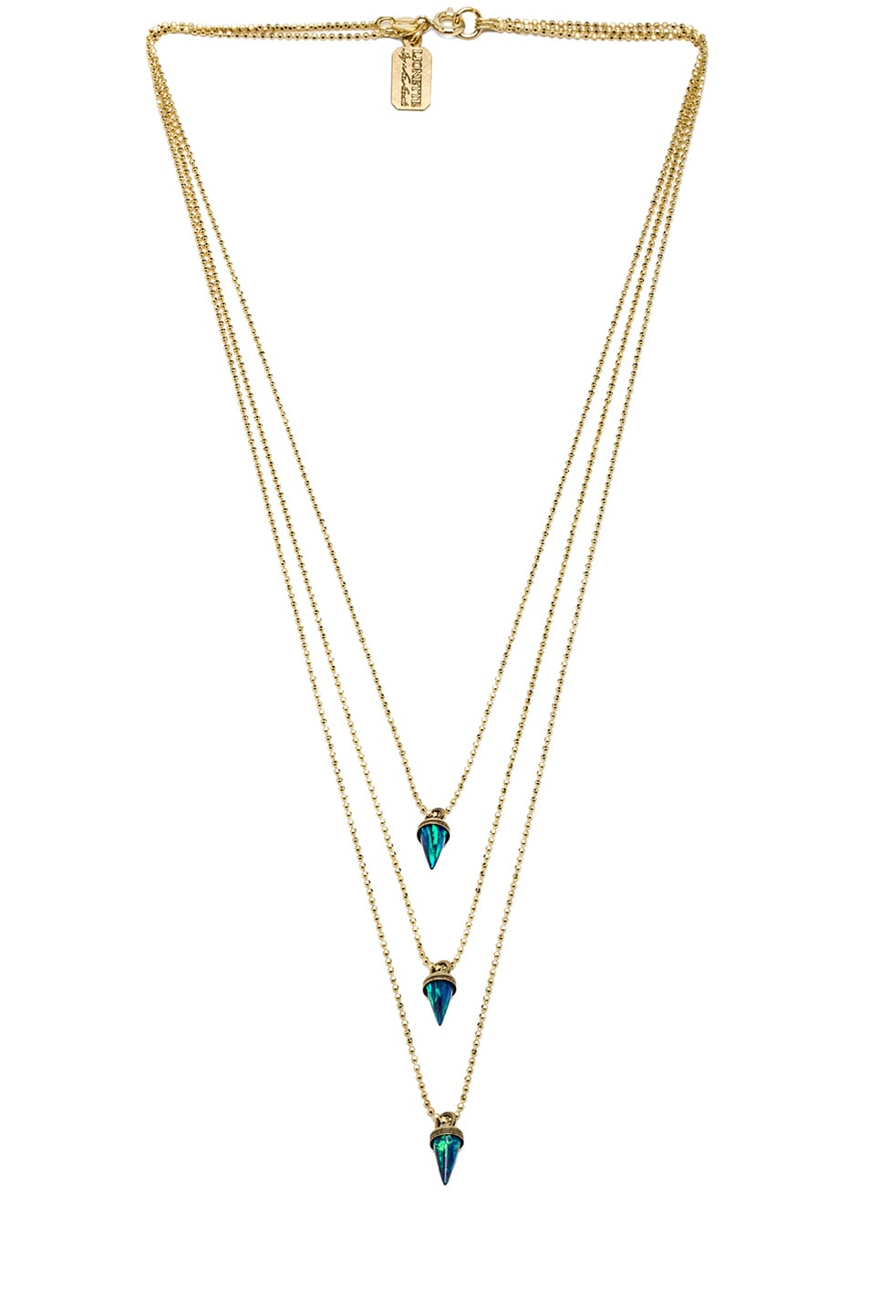 Image 1 of Lionette by Noa Sade Avish Necklace in Blue