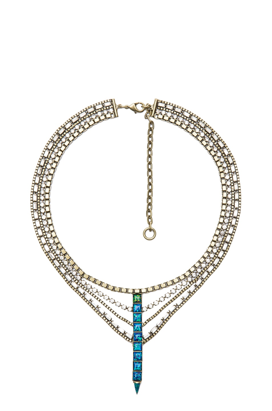 Image 1 of Lionette by Noa Sade Australia Necklace in Blue