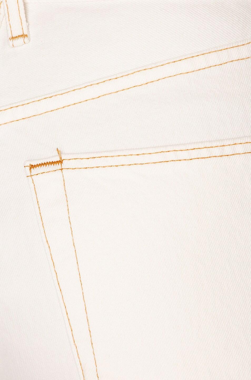 Image 5 of SLVRLAKE Beatnik Ankle Slim in Natural White
