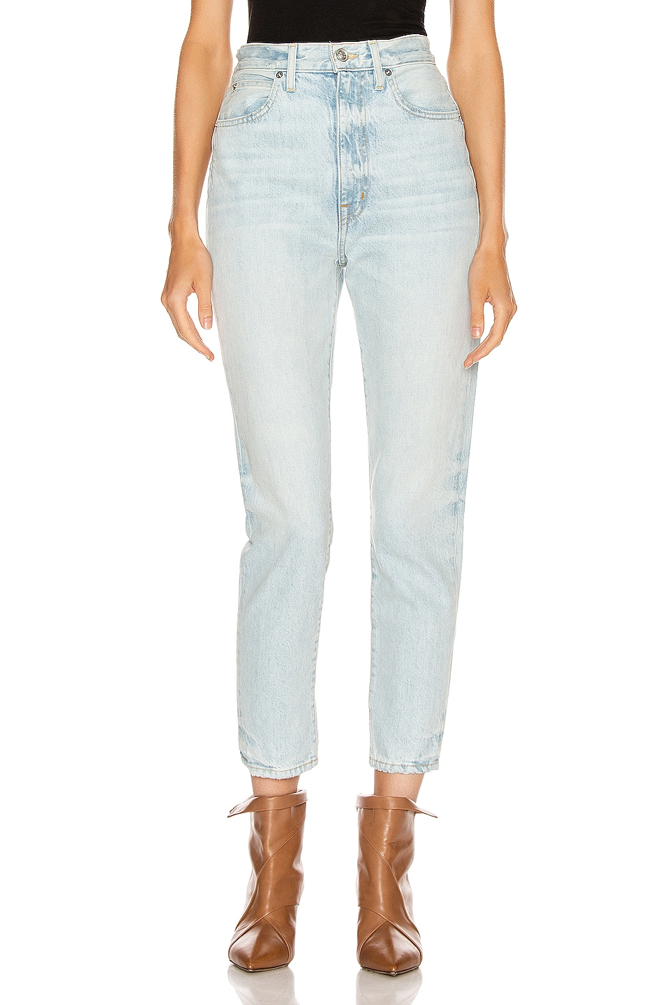 Image 1 of SLVRLAKE Beatnik Ankle Slim in Powder Blue