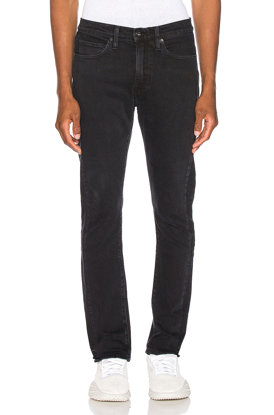 Image 1 of LEVI'S: Made & Crafted 510 Skinny Jean in Pieced Double Black